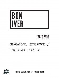 Bon Iver Live in Singapore