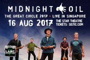 Midnight Oil Singapore 2017