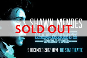 Shawn Mendes Singapore sold out