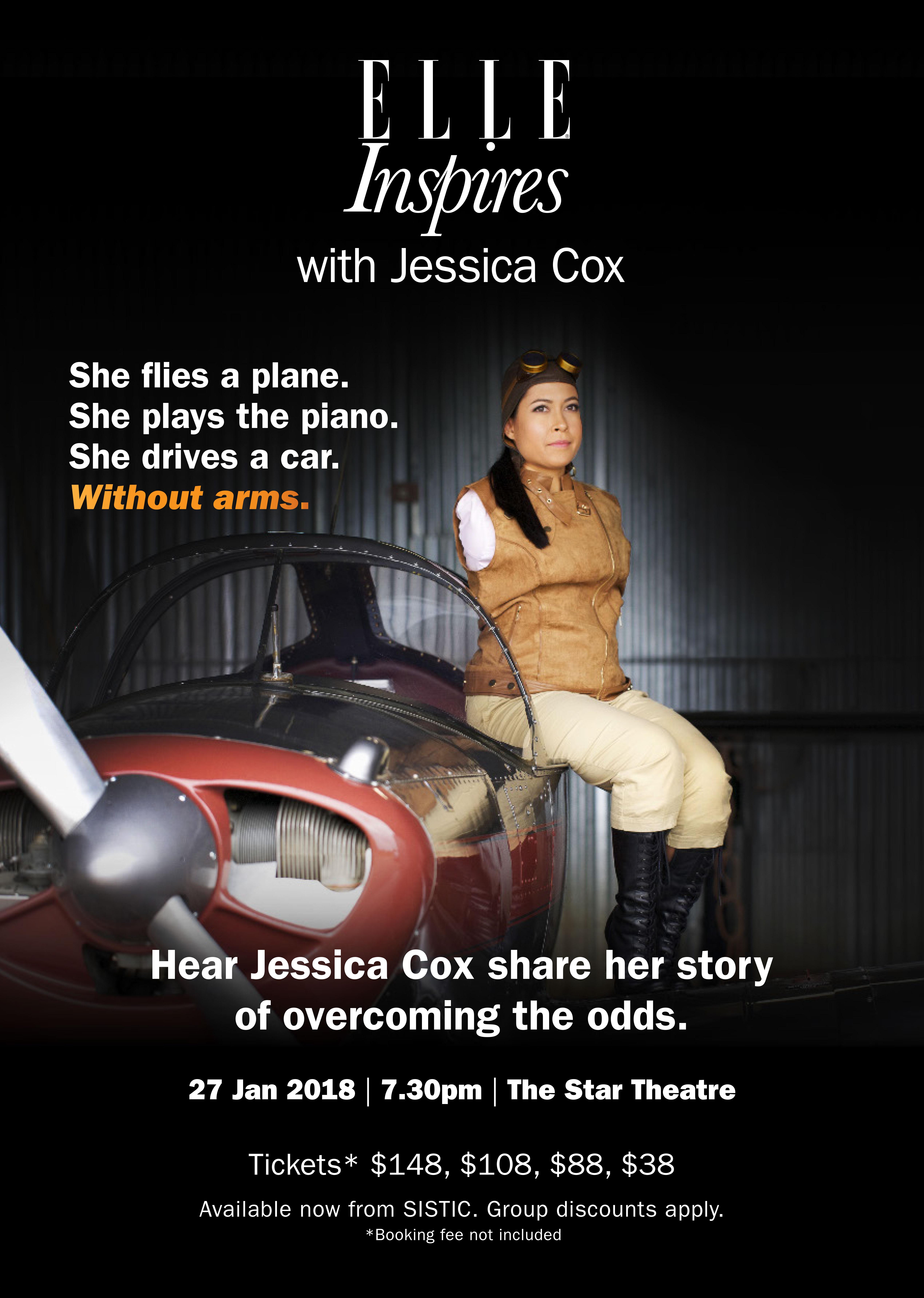 Elle Inspires with Jessica Cox