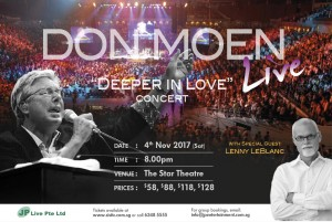 Don Moen Deeper in Love Singapore