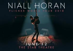 Niall Horan Flicker World Tour 2018
