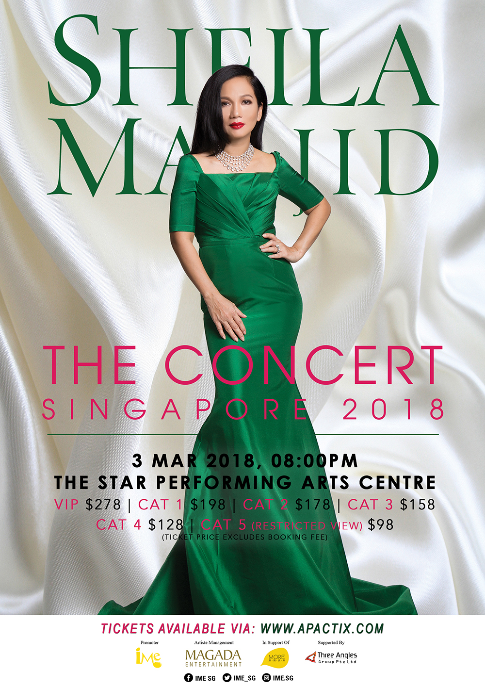 Sheila Majid Singapore 2018