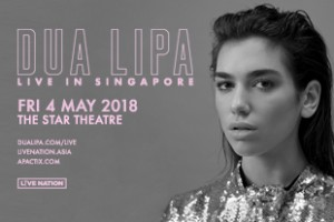 Dua Lipa Live in Singapore 2018