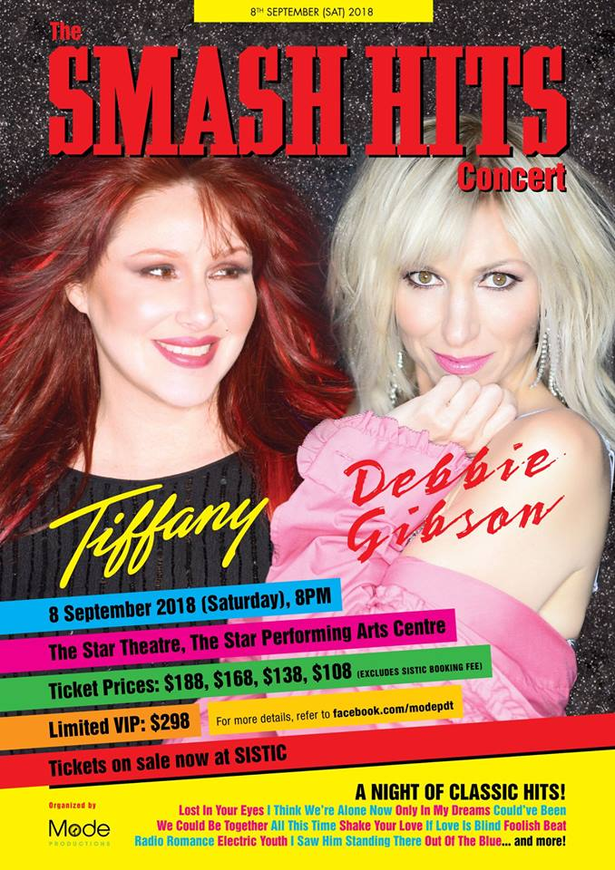 The SMASH HITS Concert – Tiffany & Debbie Gibson