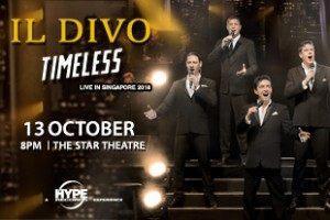 IL DIVO 2018 The Star 310X207