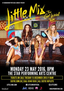 Little Mix The Get Weird Tour
