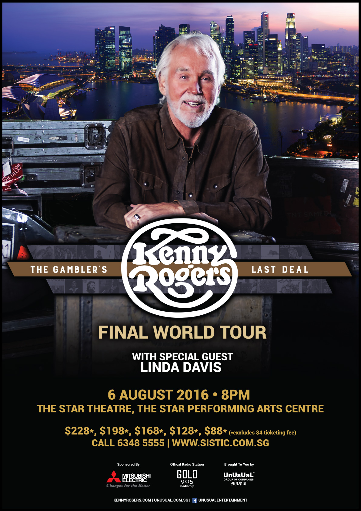 Kenny Rogers' Final World Tour: The Gambler's Last Deal ...