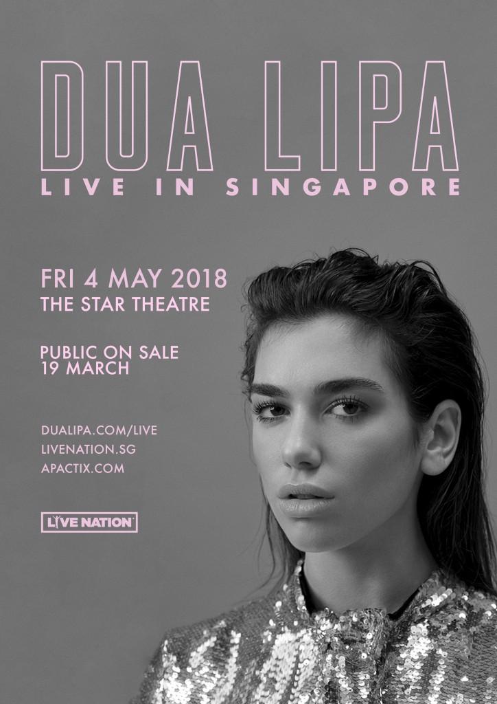 Dua Lipa Live in Singapore 2018