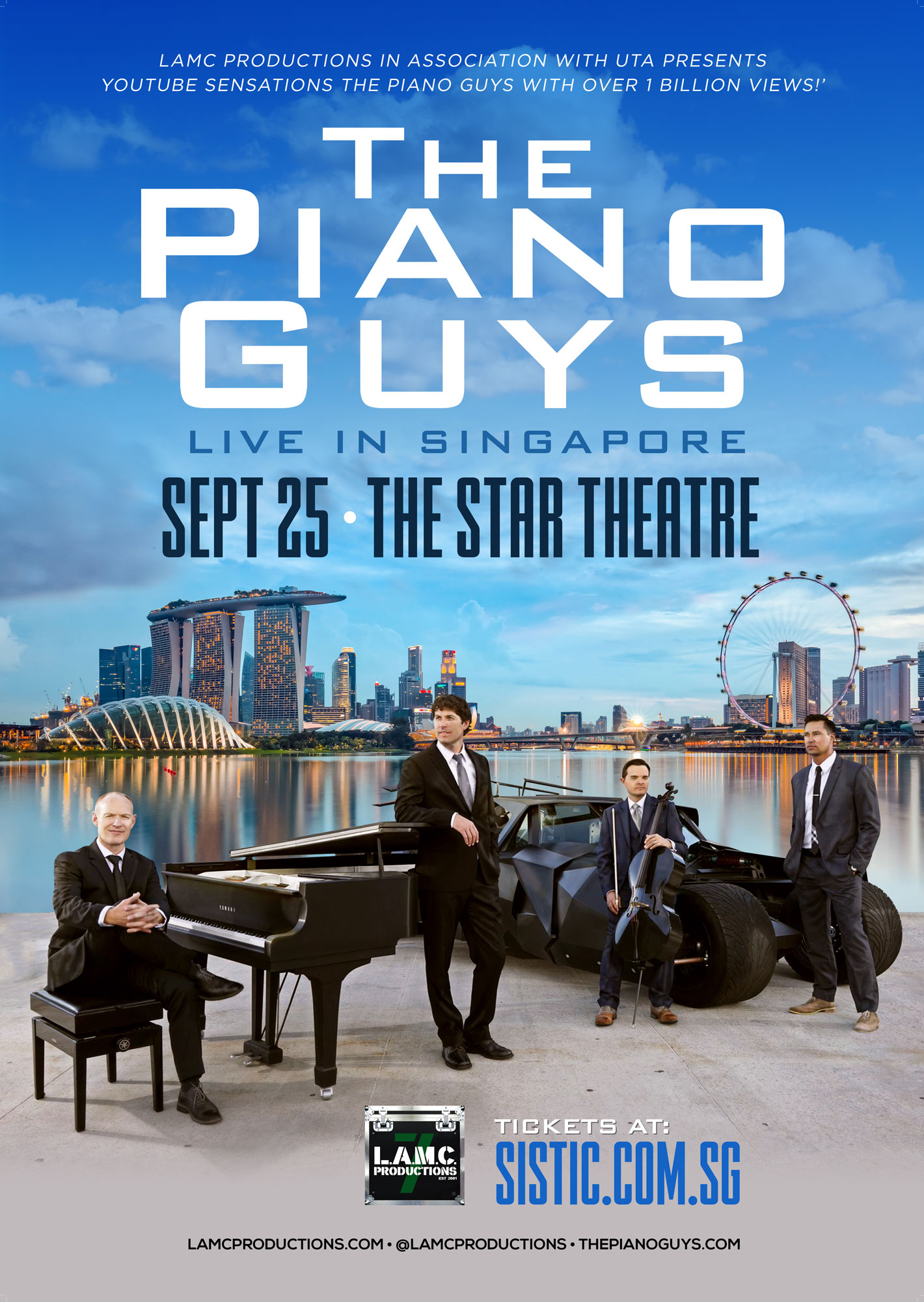 The Piano Guys Live in Singapore